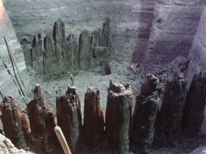 Раскопки на Почтовой площади