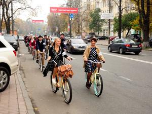 Велоакция в Киеве