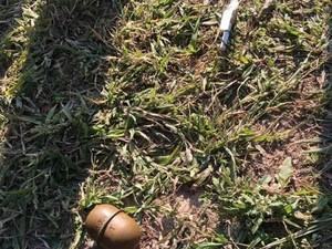 граната в киевском парке