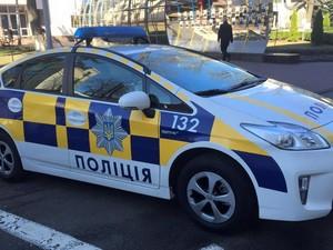 драка с полицией и стрельба в киеве