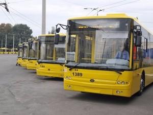 забастовка киевских водителей