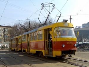 новые остановки трамвая в киеве