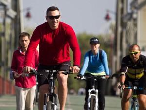 велопарковки у кабмина и мэрии