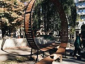 лавочка в парке шевченко киев