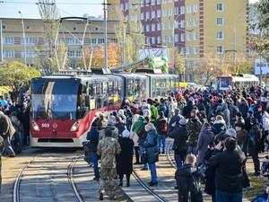 парад трамваев киев