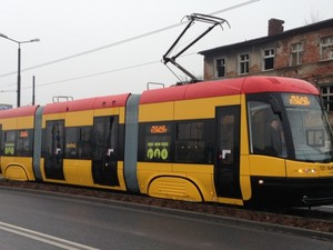 польские трамваи в киеве