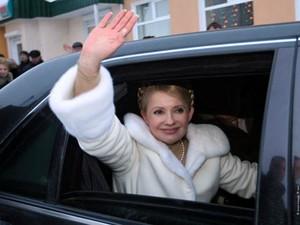 тимошенко в машине