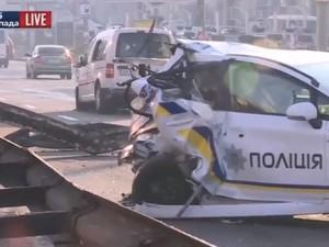 авария с участием полиции киев