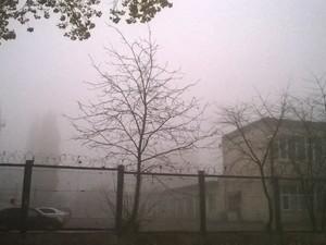 киев в тумане