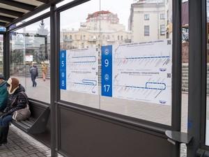 схемы маршрутов киев