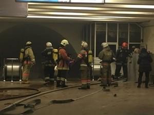 пожар в метро киев