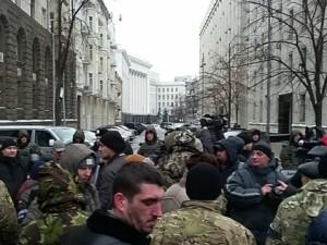 митинг военных