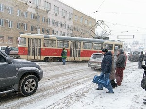 киев трамвай