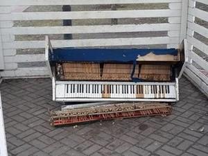 уличное пианино киев