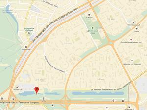 парк на троенщине карта