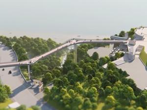 Народное название моста – «мост Кличко»