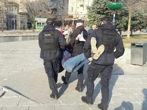Для «спецоперации» полиции понадобилось около 15 полицейских