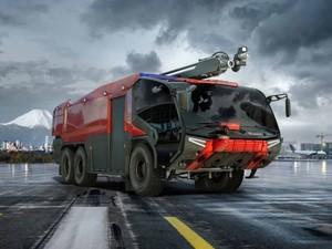 Фирма поставит два аэродромных пожарных автомобиля Rosenbauer Panther