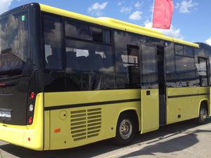Участники предложили автобус МАЗ 232062 по 6.1 млн грн