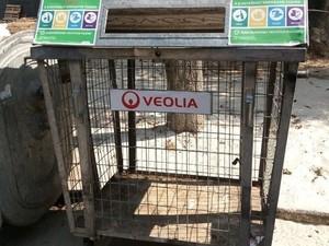Киевлян просят «правильно выбрасывать мусор»