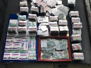 Задержанный пытался перевезти на автобусе более 1800 таблеток