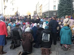 Акция собрала около 400 верующих из разных регионов страны