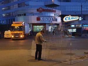 Во многих районах Киева демонтировали киоски и палатки