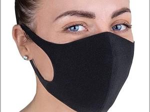 маска на лице