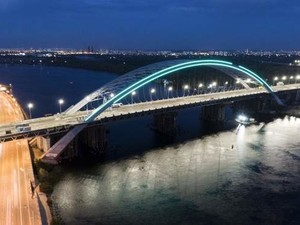 Кличко пообещал достроить мост с Подола на Троенщину до конца октября